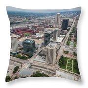 Downtown St Louis Throw Pillow