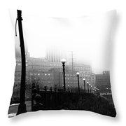 Downtown St.paul Minnesota Throw Pillow