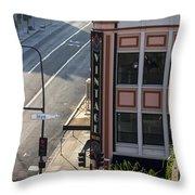 Downtown Vintage Throw Pillow