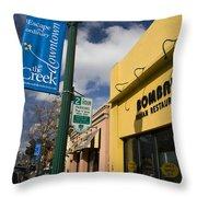 Downtown Walnut Creek California Throw Pillow
