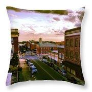 Downtown Washington Nc Throw Pillow