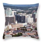 Downtown Wilimington Throw Pillow