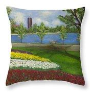 Dow's Lake - Ottawa Throw Pillow