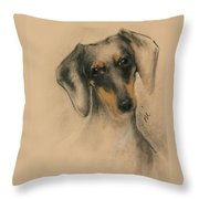 Doxie Throw Pillow