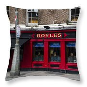 Doyles The Times We Live Inn - Dublin Ireland Throw Pillow