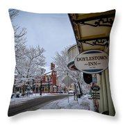 Doylestown Inn Throw Pillow