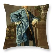 Dr. Charles Chauncey  M.d. Throw Pillow