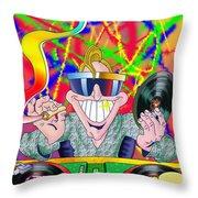 Dr Feelgood Throw Pillow