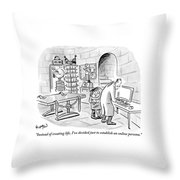 Dr. Frankenstein To His Assistant. His Lab Has No Throw Pillow