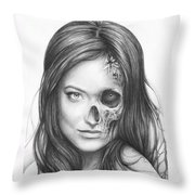 Dr. Hadley Thirteen - House Md Throw Pillow