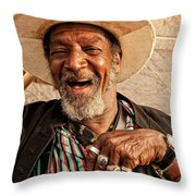 Dr. Luv New Orleans Throw Pillow