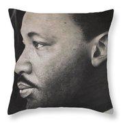 Dr. Martin Throw Pillow