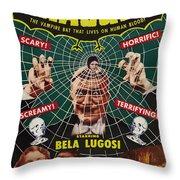 Dracula II Throw Pillow