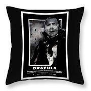 Dracula Movie Poster 1931 Throw Pillow