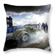 Drag Racing 1 Throw Pillow