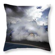 Drag Racing 11 Throw Pillow