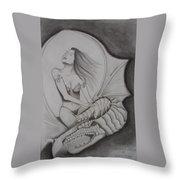 Drag'nass Designs 1 Throw Pillow