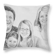 Dragojlovic Family Throw Pillow