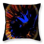 Dragon Crest Throw Pillow
