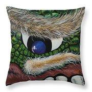 Dragon Cyclops Throw Pillow