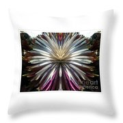 Dragon Flower Throw Pillow