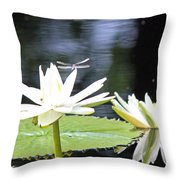 Dragon Lily 3  Throw Pillow