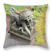 Dragon Of The East Throw Pillow