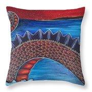 Dragon One Throw Pillow