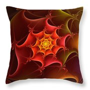 Dragon Scale Throw Pillow