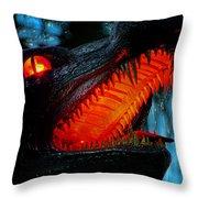 Dragon Speak Throw Pillow