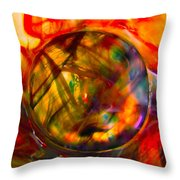 Dragon Travel Sphere Throw Pillow