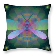 Dragonfly 2013 Throw Pillow