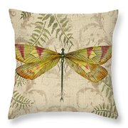 Dragonfly Daydreams-a Throw Pillow