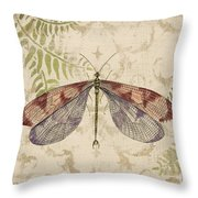 Dragonfly Daydreams-d Throw Pillow