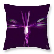 Dragonfly Work 2 Throw Pillow