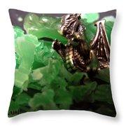 Dragon's Hoard  Throw Pillow