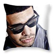 Drake Artwork 1 Throw Pillow