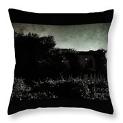 Drama House Throw Pillow