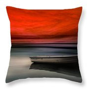 Drama Lake Throw Pillow
