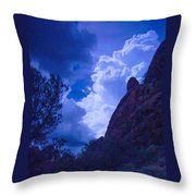 Drama Sky Sedona Throw Pillow