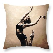 Dramatic Eclecticism Throw Pillow