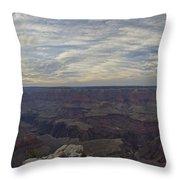 Dramatic Grand Canyon Sunset Throw Pillow