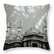 The Jain Temples Throw Pillow