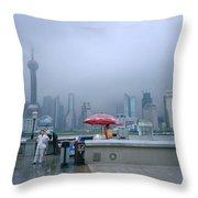 Dramatic Shanghai Throw Pillow