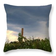 Dramatic Skies Throw Pillow