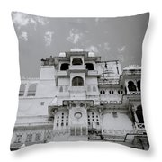 Dramatic Udaipur Throw Pillow