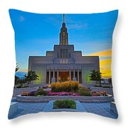 Draper Temple 1 Throw Pillow