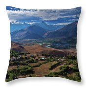 Drass... Throw Pillow