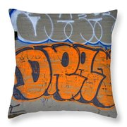 Drat Throw Pillow