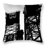 Drawbridge Throw Pillow